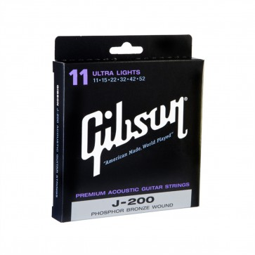 Gibson J200 Phospher Bronze žice za akustičnu gitaru-.011 - .052