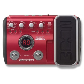 Zoom B2.1U Bass Effect