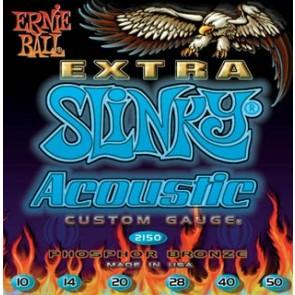 Earnie Ball 010 - 050 2150 Extra Slinky žice za akustičnu gitaru