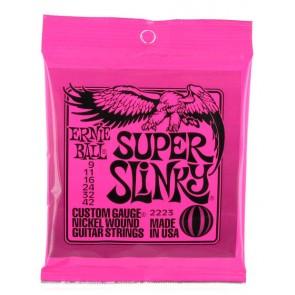 Earnie Ball 009 - 042 2223 Super Slinky Nickel žice za električnu gitaru