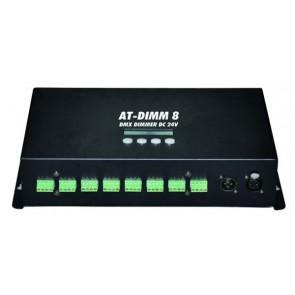 EUROLITE AT-DIMM 8 DMX Dimmer DC 24V-6A
