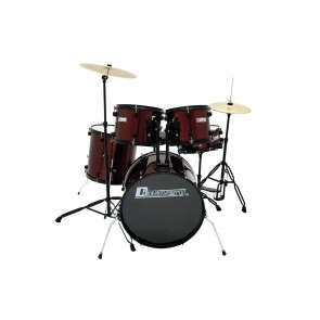 Dimavery DS-200 set bubnjeva Wine Red