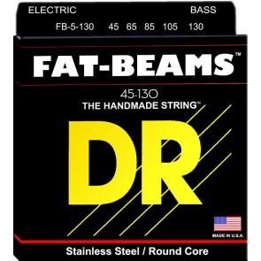DR Fat Beams 045-130 žice za 5 žičani bas