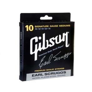 Gibson Earl Scruggs Signature žice za banjo-.010, .012, .014, .022w, .010