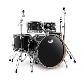 Natal Arcadia UFX Black Sparkle shell pack