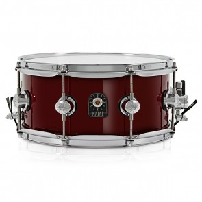 """Natal SD-C-MA46-R Maple snare 14 X 6,5"""" Red"""