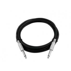 Omnitronic 2 x 6.3mm mono jack instrumentalni kabel, 6m
