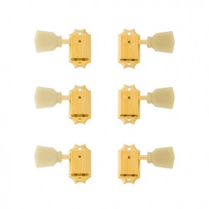 Gibson Vintage Gold Machine Heads w/ Pearloid Buttons