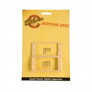 Gibson Historic Crème Neck and Bridge Pickup Ring Set