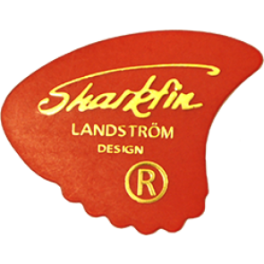 Sharkfin Goldprint Soft Red