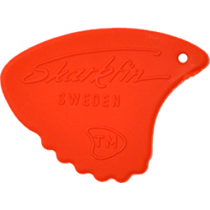 Sharkfin Relief Soft Red