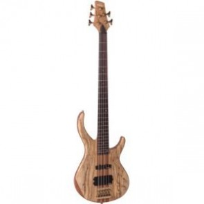 Vintage V1005SP 5 string bass Spalted Maple