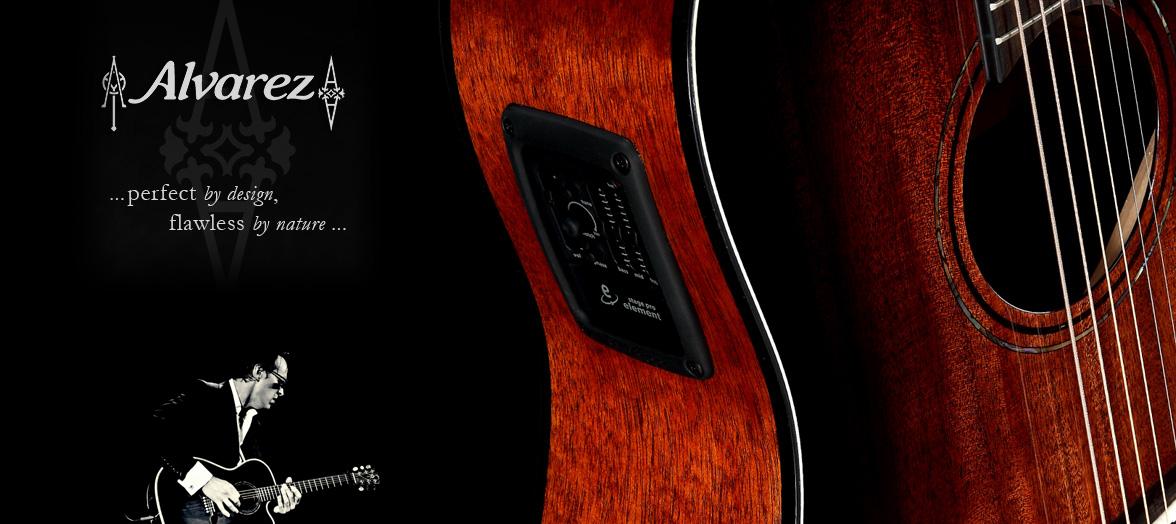 Alvarez gitare