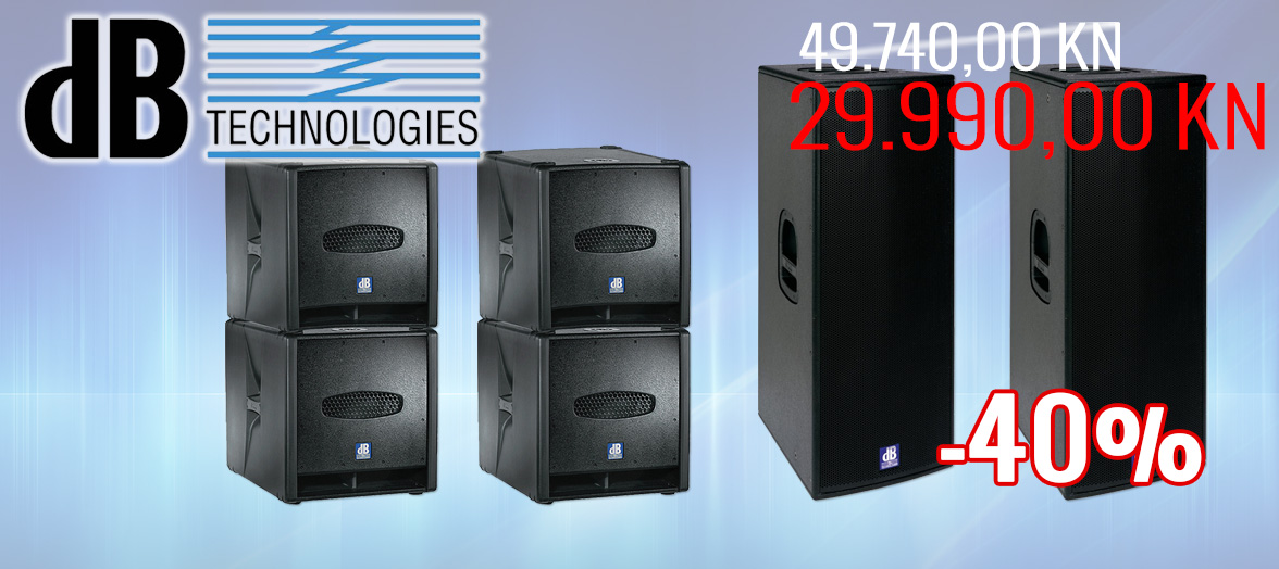 DB Technologies FLEXSYS razglasni sistem