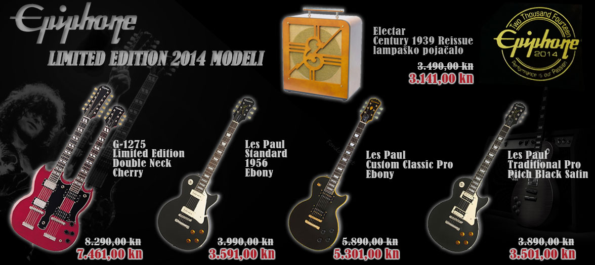 Epiphone Limited Edition 2014 modeli