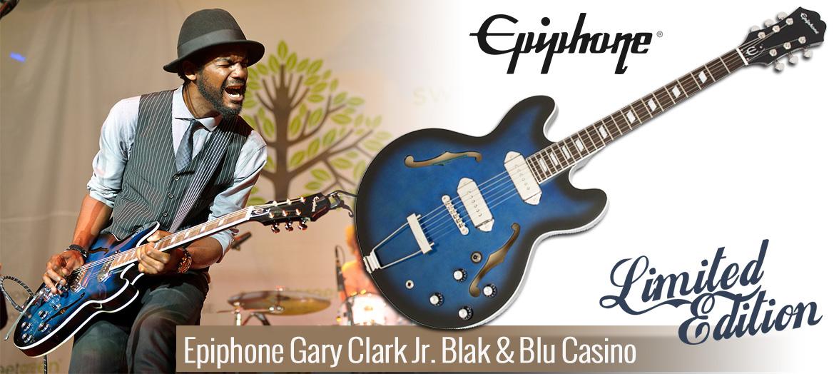 Epiphone Gary Clark Jr. Blak & Blu Casino