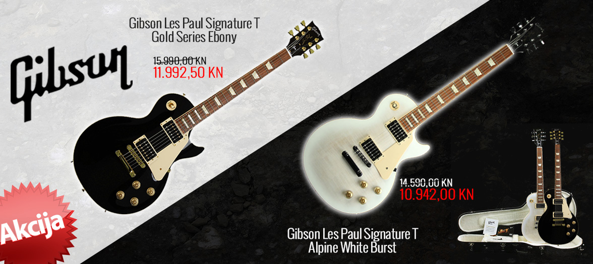 Gibson Signature T akcija