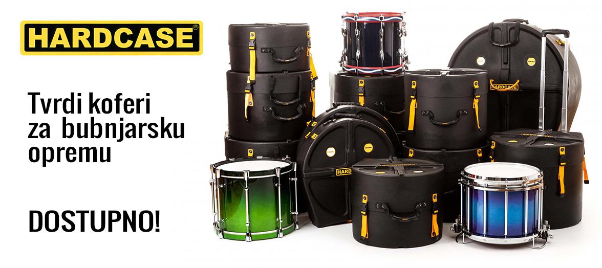 Hardcase koferi za bubnjarsku opremu