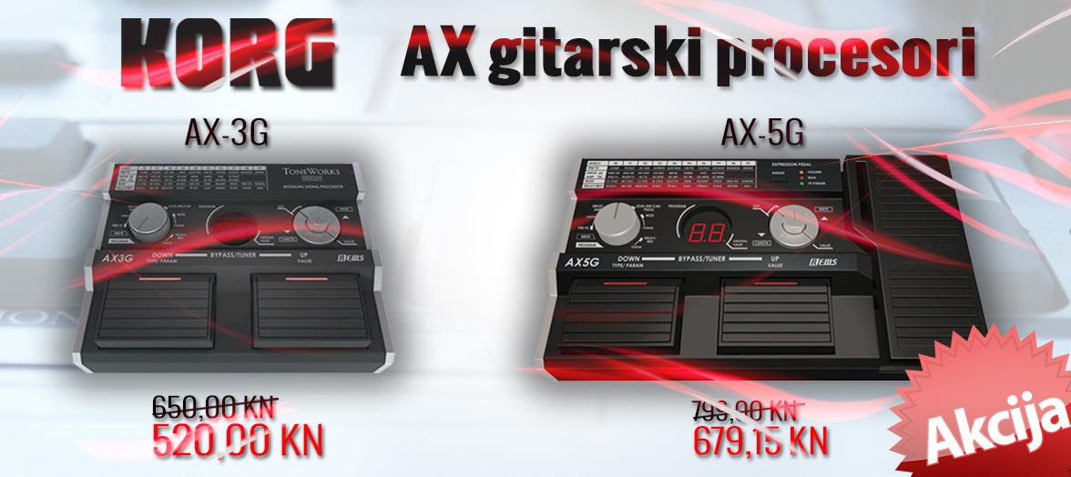 Korg AX gitarski procesori
