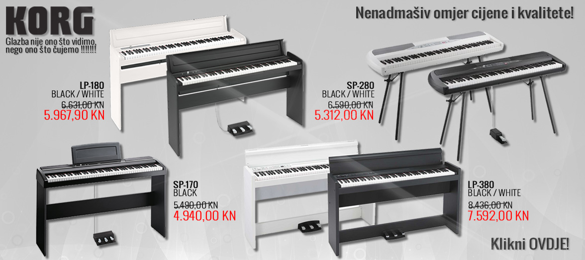 Korg električni klaviri