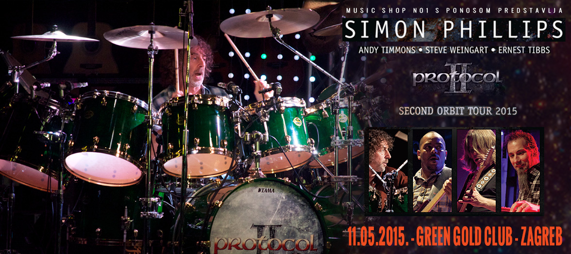 Simon Phillips Live Zagreb