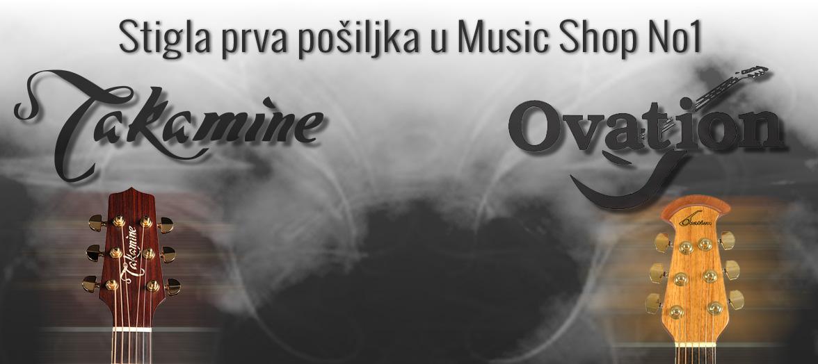 Ovation & Takamine