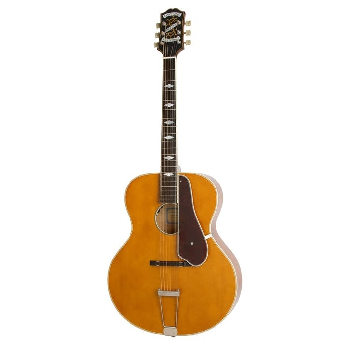 Epiphone De Luxe Round Hole Masterbilt Acoustic in Natural
