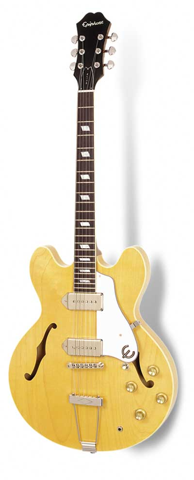 Epiphone Elitist 1965 Casino Outfit Natural
