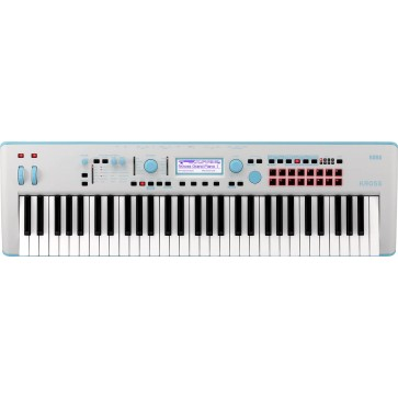 Korg KROSS 2 61 Workstation Synthesizer Gray Blue