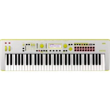 Korg KROSS 2 61 Workstation Synthesizer Gray Green