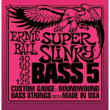 Earnie Ball 040-125 2824 Super Slinky žice za 5 žičanu bas gitaru