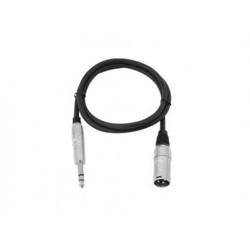 Omnitronic XK-09 XLR-6.3 0,9m stereo kabel