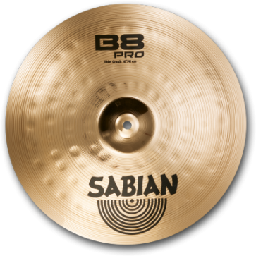 "Sabian 16"" B8 PRO ROCK CRASH"