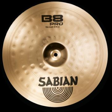 "Sabian 16"" B8 PRO THIN CRASH"