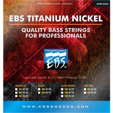 EBS TN-ML5 Titanium Nickel Medium Light 040 - 125