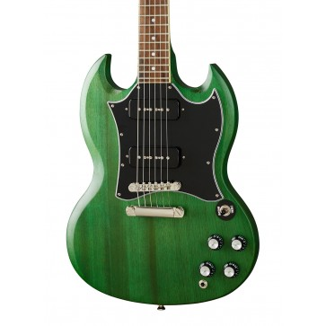 Epiphone SG Classic P-90s Worn Inverness Green
