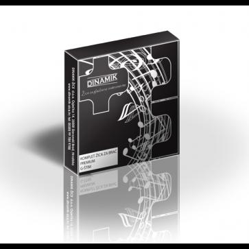 Dinamik komplet žica za G basprim (brač)