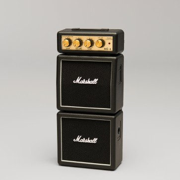 Marshall MS-4 1W Black micro stack
