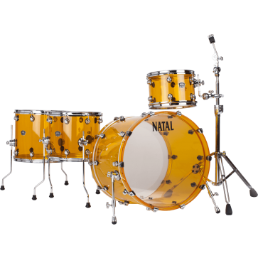 NATAL ARCADIA ACRYLIC AA2 ORANGE SHELL KIT