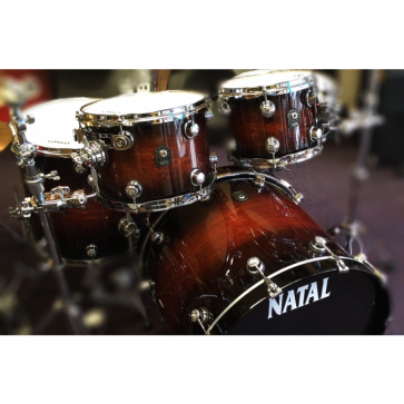 Natal Cafe Racer 22 Shell Pack Exotic Brown Burst