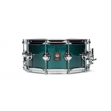 """Natal Cafe Racer Snare 14 x 6,5"""" British Racing Green"""