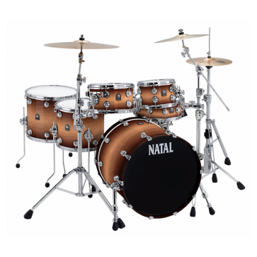 Natal Maple Fusion 22 Shell Pack Tobacco Fade