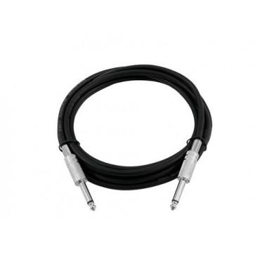 Omnitronic 2 x 6.3mm mono jack instrumentalni kabel, 10m