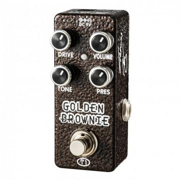 Xvive Golden Brownie Distortion pedala Thomas Blug