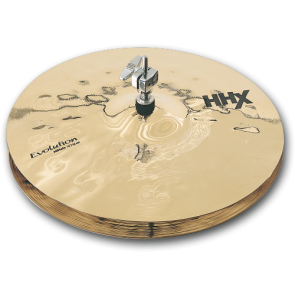 "Sabian 14"" HHX EVOLUTION HATS BR."