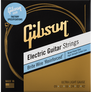 Gibson Brite Reinforced 09/42 žice za električnu gitaru