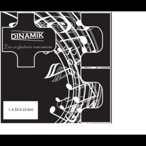 Dinamik 1. A žica za A bas