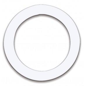 Remo 5″ Dynamo Ring in White