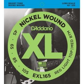 D'Addario EXL165 žice za bas