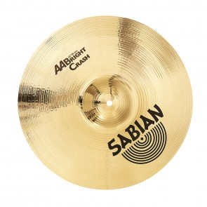 "Sabian 16"" AA Bright Crash Cymbal"